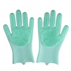 Magic silicone washing glove