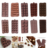 Christmas DIY Chocolate Mold Silicone Spoon Chocolate Baking