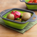 Foldable Fruit Vegetable Washing Basket Strainer