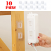 Double Sided Adhesive Wall Hooks Hanger Strong Transparent Hooks Suction Cup Sucker Wall Storage Holder