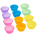Silicone Cake Mold Round Shaped Muffin Silicone Baking Cups Molds