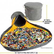 Mat Available Slideaway toy storage Basket