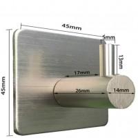 Aluminum Adhesive Wall Hook