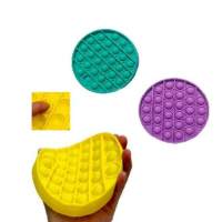 Silicone Push pop pop Bubble Squeeze Sensory Fidget Toy