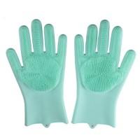 Magic silicone washing glove