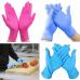Disposable Latex Nitrile Gloves Universal Kitchen Washing Work Gloves