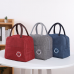 Oxford Lunch Bags Waterproof Convenient Tote Food Bags