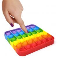 Silicone Push pop pop Bubble Squeeze Sensory Fidget Toy
