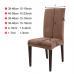 Removable Thick Plush Chair Cover Stretch Elastic Slipcovers