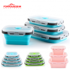 Silicone Food Storage Containers Silicone lunch box