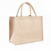 Reusable Jute Tote Shopping Bags Grocery Foldable Linen Storage Bag